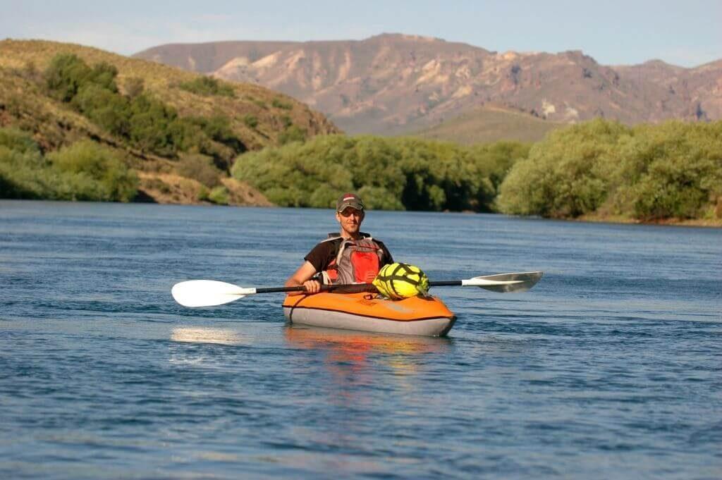 kayak rapide et précis Advanced Elements Lagoon 1