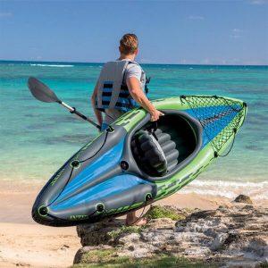 transporte de peso para kayak inflable