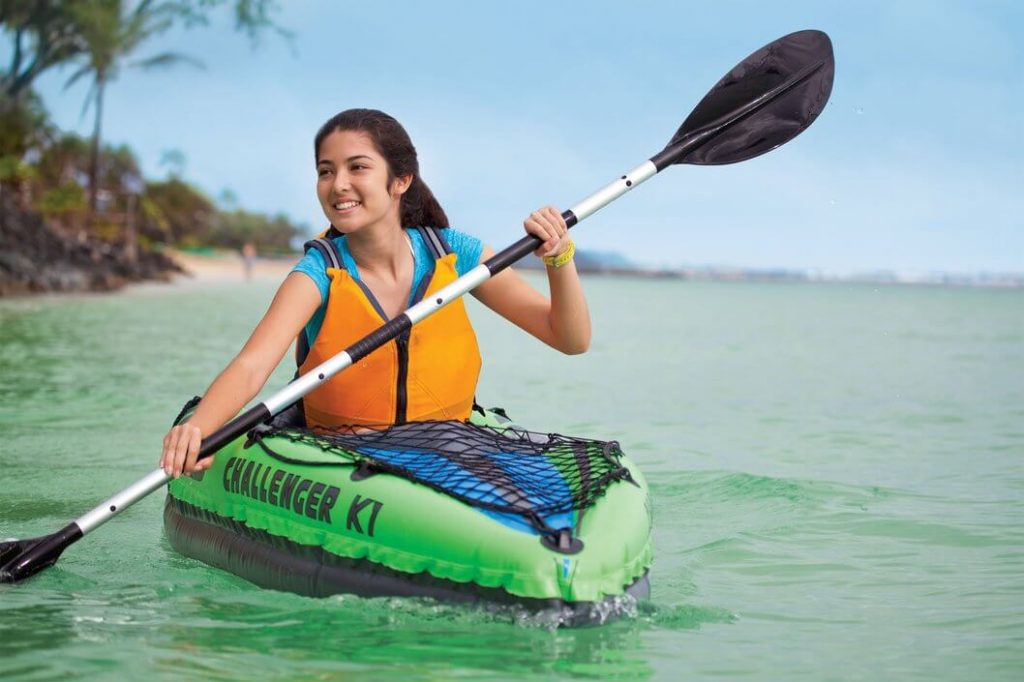 kayak gonflable Intex Challenger K1confortable