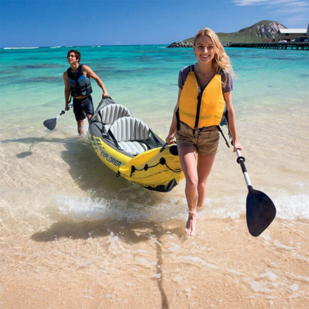 kayak de mar inflable